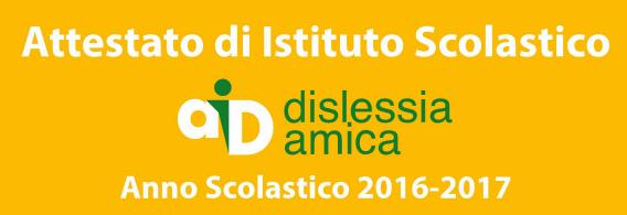 AID dislessia amica 2016-17