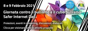 link per accedere alla Giornata contro il bullismo e cyberbullismo 2021