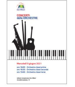 locandina dei concerti delle orchestre