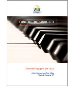 locandina concerto di pianoforte